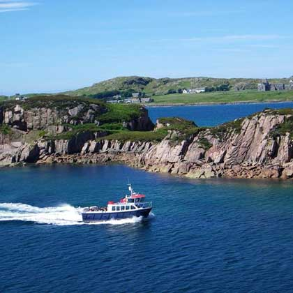 Boat Trips on the Isle of Iona