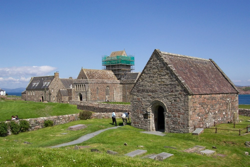 St. Oran's Chapel history