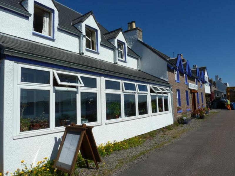 Argyll Hotel one of the two hotels on Iona