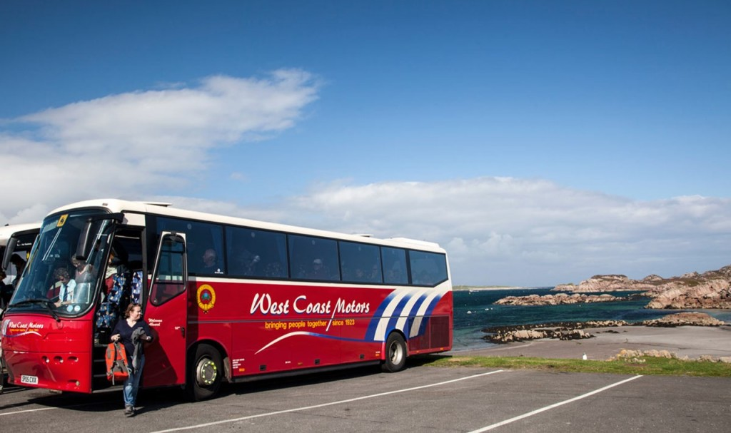 west coast motors getting to iona